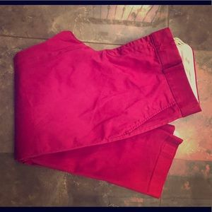 Pink banana republic pants